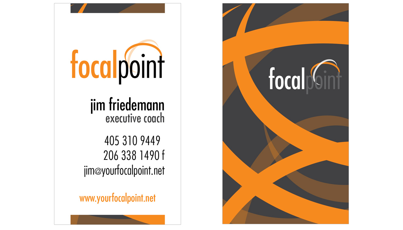 Your Focal Point Business Cards • DayCreative