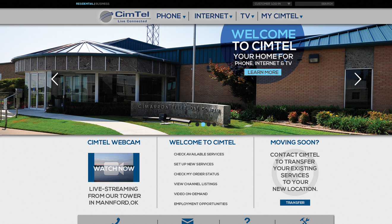 CimTel Website • DayCreative