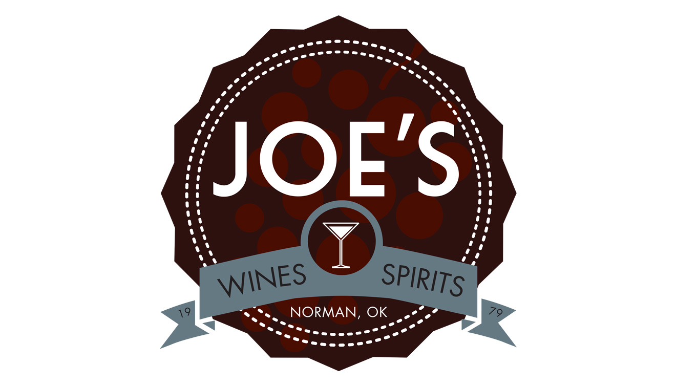 Joe's Wine & Spirits Logo • DayCreative