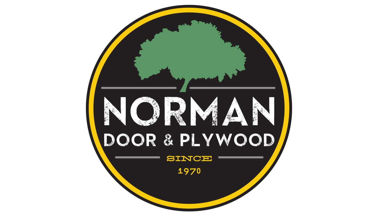 Norman Door & Plywood Logo • DayCreative