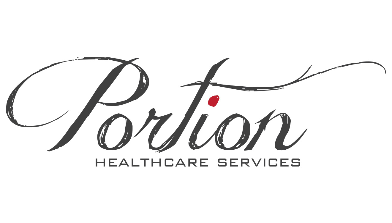 Portion Healthcare Logo • DayCreative