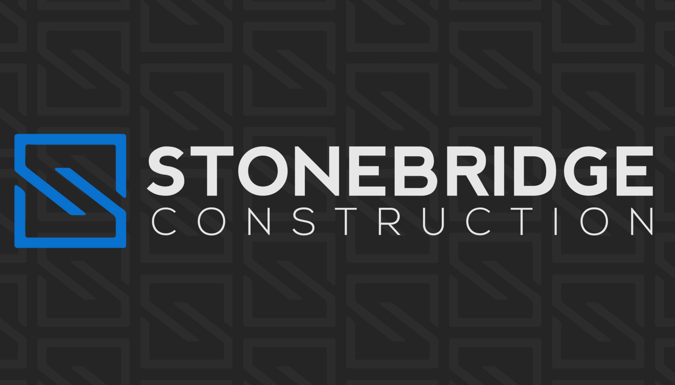 Stonebridge Construction Logo, Website & Branding • DayCreative.net