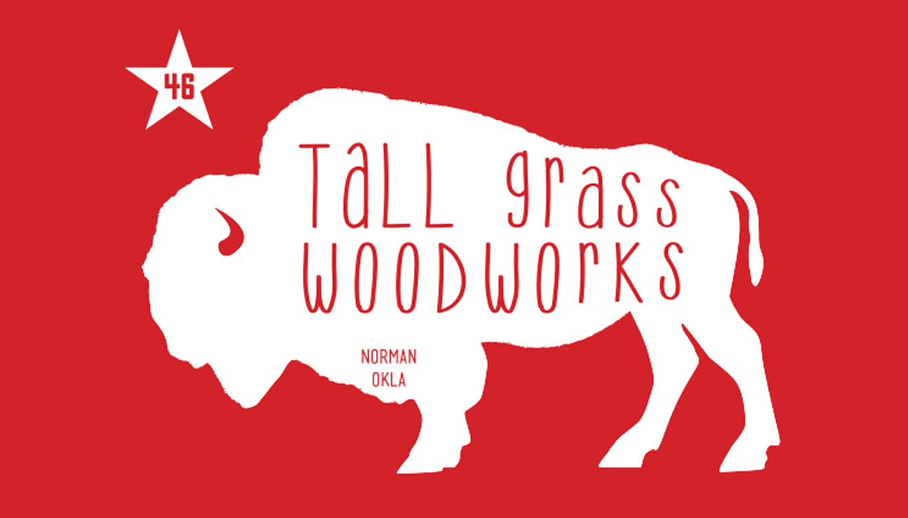 Tallgrass Woodworks Logo • Day Creative • DayCreative.net