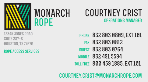 Monarch Rope Logo (2015) • DayCreative.net